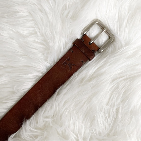 American Eagle - Brown Leather Belt